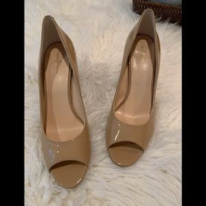 NEW Cole Haan Nike Air Patent Leather Peep Toe